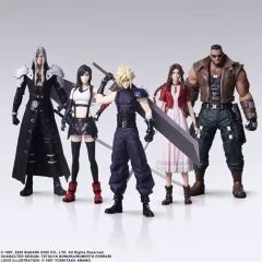 FINAL FANTASY VII REMAKE TRADING ARTS (SET OF 5 PIECES) Square Enix