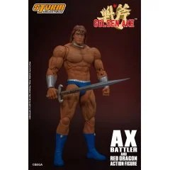 GOLDEN AXE 1/12 SCALE PRE-PAINTED ACTION FIGURE: AX BATTLER & RED DRAGON Storm Collectibles