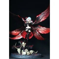 THE SEVEN DEMON LORDS 1/5 SCALE PRE-PAINTED FIGURE: FALLEN ANGEL LUCIFER Kaitendo