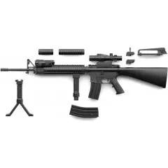 LITTLE ARMORY LA056 1/12 SCALE MODEL KIT: M16A4 TYPE Tomytec