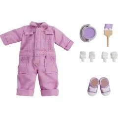 NENDOROID DOLL: OUTFIT SET (COLORFUL COVERALL - PURPLE) Good Smile
