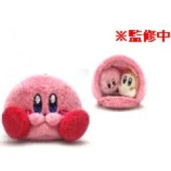 KIRBY'S DREAM LAND TENORI PLUSH MASCOT: HOUSE POUCH Gray Parka Service