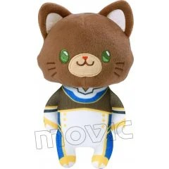 CODE GEASS LELOUCH OF THE RE;SURRECTION WITH CAT PLUSH KEY CHAIN WITH EYE MASK SUZAKU Movic