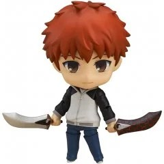 NENDOROID NO. 555 FATE/STAY NIGHT UNLIMITED BLADE WORKS: SHIROU EMIYA (RE-RUN) Good Smile