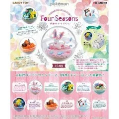 POKEMON TERRARIUM COLLECTION FOUR SEASONS (SET OF 6 PIECES) Re-ment