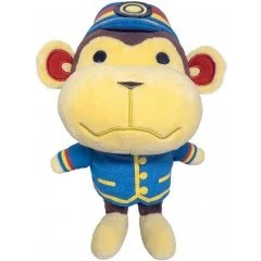 ANIMAL CROSSING ALL STAR COLLECTION PLUSH: DP14 PORTER (S) San-ei Boeki