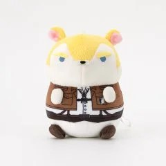 MOCHIMOCHI HAMSTER COLLECTION ATTACK ON TITAN PLUSH: ERWIN Broccoli