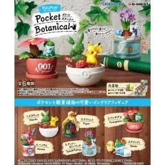 POKEMON POCKET BOTANICAL (SET OF 6 PIECES) Re-ment
