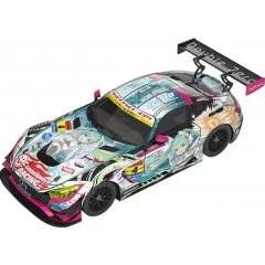 HATSUNE MIKU GT PROJECT 1/64 SCALE MINIATURE CAR: GOOD SMILE HATSUNE MIKU AMG 2017 SUPER GT VER. Good Smile Racing