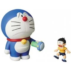 ULTRA DETAIL FIGURE NO. 551 FUJIKO F FUJIO WORKS SERIES 14 DORAEMON: DORAEMON & NOBITA (SMALL LIGHT) Medicom