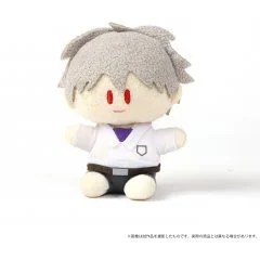 REBUILD OF EVANGELION YORINUI PLUSH MINI: KAWORU NAGISA SCHOOL UNIFORM VER. Movic