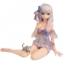 RE:ZERO KARA HAJIMERU ISEKAI SEIKATSU FIGURE: EMILIA (SLUMBER TEA PARTY) Bandai Spirits