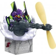 ELECTROYS EVANGELION 1.0 YOU ARE (NOT) ALONE.: EVANGELION EVA-01 GATLING FAN REAL TOKYO-III VER. Tops
