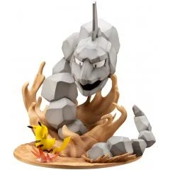 ARTFX J POKEMON SERIES 1/8 SCALE PRE-PAINTED FIGURE: ONIX VS. PIKACHU Kotobukiya