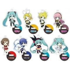 PIAPRO CHARACTERS PETITKKO TRADING ACRYLIC STAND (SET OF 8 PIECES) Penguin Parade