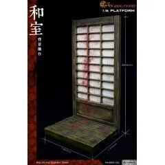 WOLFKING 1/6 SCALE: JAPANESE ROOM BACKGROUND AND PLATFORM Wolfking