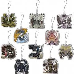 MONSTER HUNTER WORLD: ICEBORNE MONSTER ICON STAINED GLASS TYPE MASCOT COLLECTION VOL. 3 (SET OF 10 PIECES) Capcom