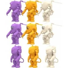 35 GACHANEN -KOW YOKOYAMA WORLD- FINAL (SET OF 9 PIECES) Kaiyodo