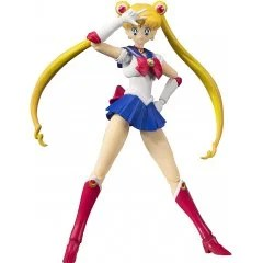 S.H.FIGUARTS SAILOR MOON: SAILOR MOON -ANIMATION COLOR EDITION- Tamashii (Bandai Toys)