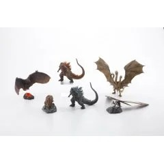 HYPER SOLID SERIES GODZILLA 2 TRADING FIGURE: GODZILLA 2019 (SET OF 6 PIECES) Art Spirits