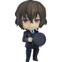 NENDOROID NO. 1414 BUNGO STRAY DOGS: OSAMU DAZAI AIRPORT VER. [GSC ONLINE SHOP EXCLUSIVE VER.] Orange Rouge