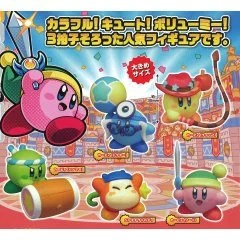 KIRBY BATTLE DELUXE! MANMARU MASCOT (SET OF 5 PIECES) (RE-RUN) TakaraTomy