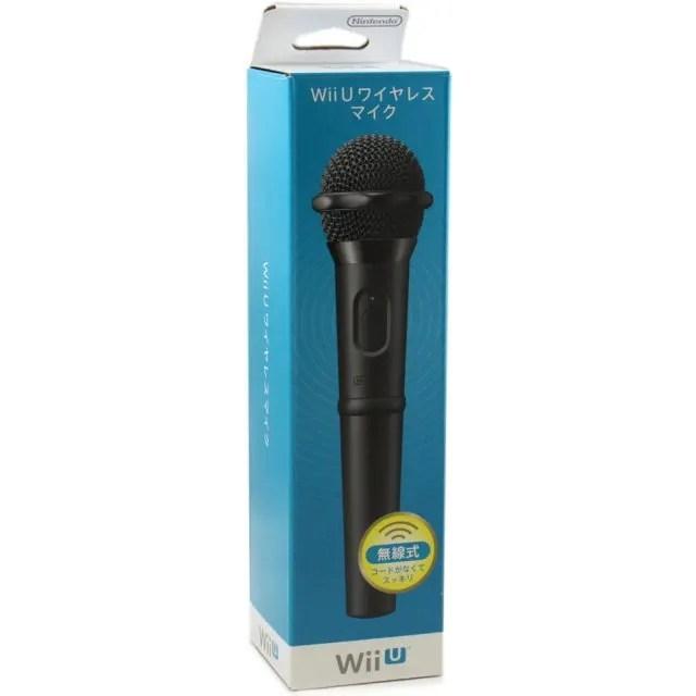 Wii U Wireless Microphone