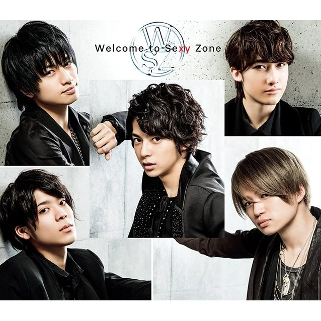 J Pop Welcome To Sexy Zone CDDVD Limited Edition