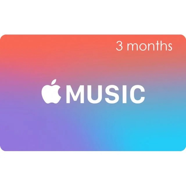 Apple Music Gift Cards  3 Month Membership Card   for Canada     Apple Music Gift Cards  3 Month Membership Card   for Canada accounts only