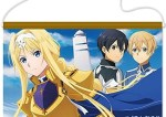 SWORD ART ONLINE ALICIZATION B2 WALL SCROLL: ALICE & KIRITO & EUGEO