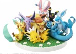 G.E.M. EX SERIES POCKET MONSTERS PRE-PAINTED PVC FIGURE: EEVEE FRIENDS