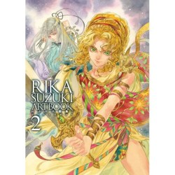 RIKA SUZUKI ARTBOOK 2 - THE UNIVERSE AND THE HEROES [LIMITED EDITION]