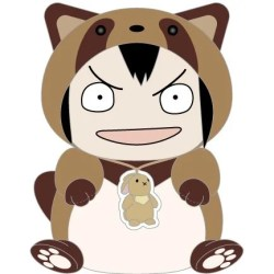 KEEP YOUR HANDS OFF EIZOUKEN! KIGURUMI PLUSH: ASAKUSA'S RACCOON DOG