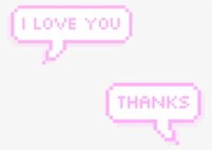 Tumblr Sticker Love - On Log Wall
