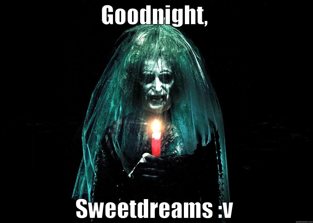 Scary Funny Goodnight Quotes