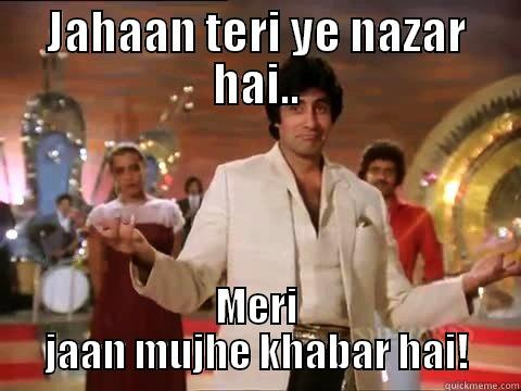 Image result for jahan teri yeh nazar hai gif