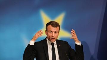 26-09-2017 21:08 Wizja Unii Europejskiej według Macrona