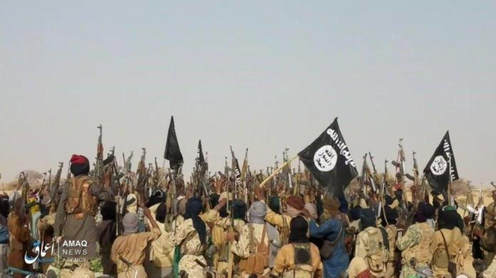 Jihadistes au Sahel.