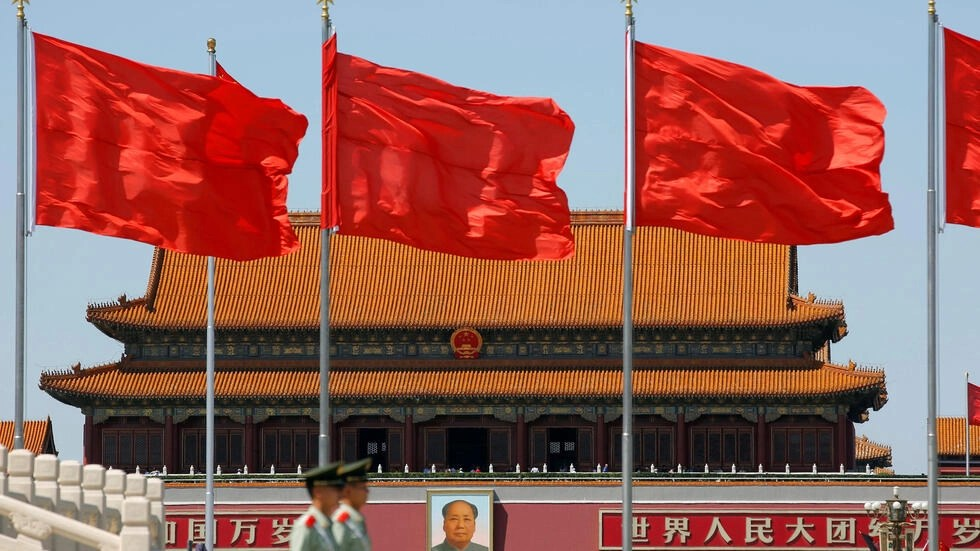 Chân dung Mao Trạch Đông trước Thiên An Môn, 16/05/2016.