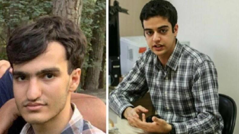 علی یونسی (سمت راست)  و امیرحسین مرادی (سمت چپ)، دو دانشجوی نخبۀ دانشگاه صنعتی شریف
