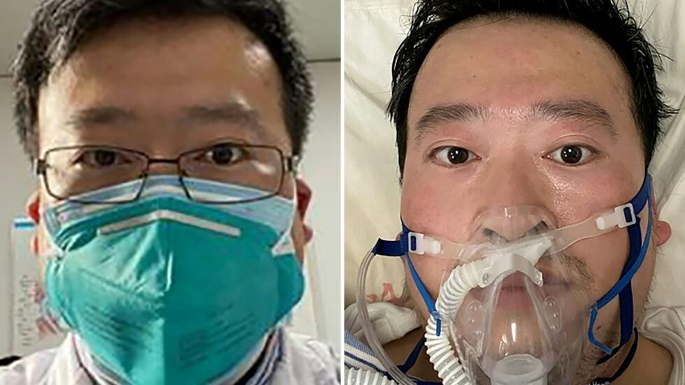 Bác sĩ Lý Văn Lượng, người thông báo với đồng nghiệp về dịch bệnh mới tại Vũ Hán, cuối tháng 12/2019, qua đời ngày 06/02/2020.