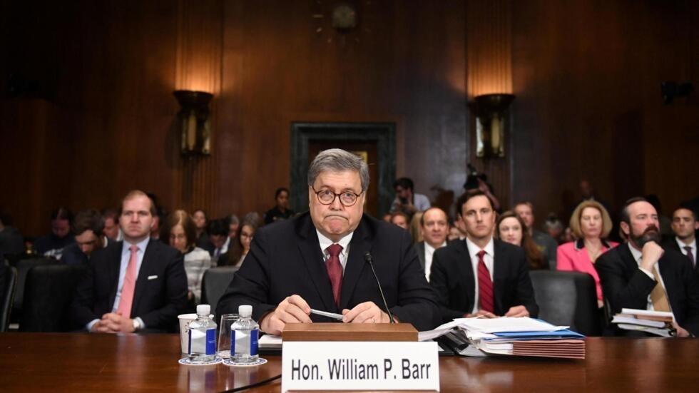 Bộ trưởng Tư Pháp William Barr điều trần trước Ủy Ban Tư Pháp Thượng Viện Hoa Kỳ, Washington D.C., ngày 01/05/2019