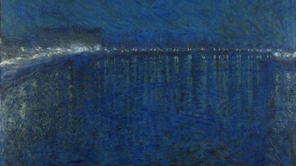 Eugène Jansson, Nocturne, 1900, oil on canvas, 136 x 151 cm, Gothenburg, Museum of Art, Sweden.