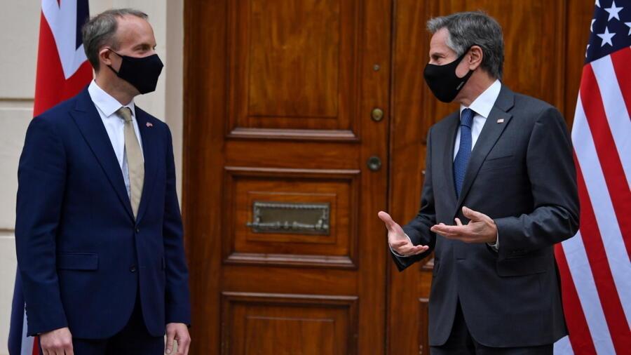 G7外长聚会伦敦 印韩南非东盟加入 G7外长聚会伦敦 印韩南非东盟加入