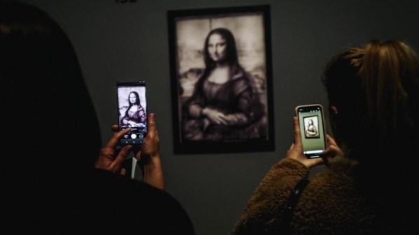 Da Vinci code: Leonardo brings all-night art to the Louvre
