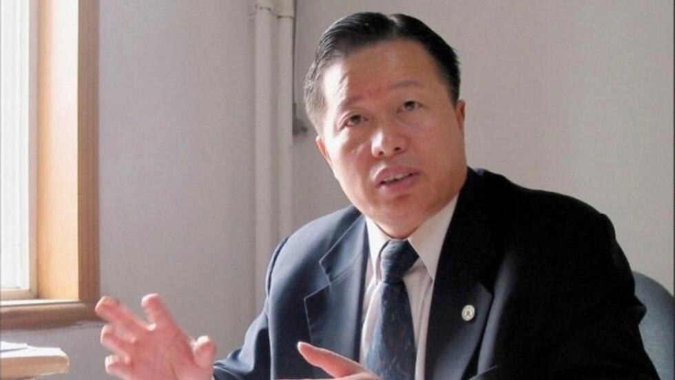 中国著名维权律师高智晟旧照