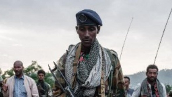 Des soldats des Forces de défense du Tigré (TDF) à Mekele (illustration).