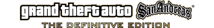 Logotipo de Grand Theft Auto San Andreas - The Definitive Edition