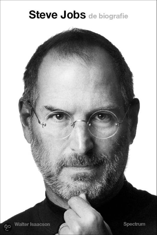 Boek biografie Steve Jobs Isaacson