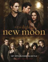 Image result for De twilight saga New moon het officiële boek bij de film